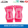 Non yoga Socks di Slip Toes Cotton con Silicone Dots