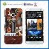 C&T Plastic retro Caso para HTC Um M7