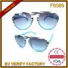 Óculos de sol F6089 baratos nenhuma venda por atacado plástica de China dos óculos de sol do farelo