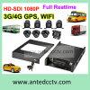 Alto video rugoso de la definición 1080P Digitaces para el carro del coche del omnibus del vehículo