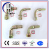 ISO-Gewinde-hydraulischer Schlauch-Befestigungs-/Tubo Mtrico Gewinde-gerader Verbinder