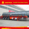 3 semi-remorque de camion de réservoir de carburant de camion de réservoir de stockage de pétrole de l'essieu 45000liters