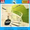 surtidores de cristal curvados familia moderna de las escaleras de 3-19m m