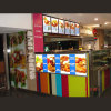 Diodo emissor de luz Light Box com preço dos alimentos List Menu Board para Kiosk Advertisng Display