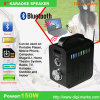 Haut-parleur par radio stéréo de Bluetooth de mini étape sans fil portative à la mode de DEL