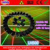 Éclairage mobile d'étape de réseau de rideau en laser de faisceau de haute énergie gros