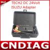 Tech2 gelijkstroom 24volt Isuzu Adapter