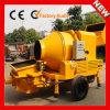 Bomba concreta do reboque hidráulico portátil diesel móvel da maquinaria de construção