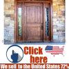 寝室のためのヨーロッパ部屋MDFの材木のドア