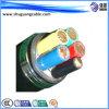PVC Insulated de VV22 5 Cores et câble d'alimentation de Sheathed Steel Tape Armored