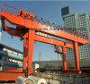 Kraan van de Brug van de Container van het Gebruik van de Werf van de haven de Op rails gemonteerde