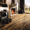 El suelo de madera del olmo viejo/dirigió los pisos/el suelo de madera reclamado (piso de entarimado de la madera dura) (59) del olmo