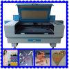 Découpage de laser de tube de verre de CO2 de commande numérique par ordinateur de FDA de la CE/machine de gravure (J.)