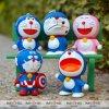 De in het groot Beste Kat Doraemon Keychains van pvc van de Sleutelringen van de Tegenhanger van de Zak van de Ketting van de Auto van de Kwaliteit Leuke Zeer belangrijke voor Gift