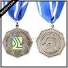 De Medaille van het Sleutelkoord van de Legering van het Zink van het metaal voor School (BYH10176)