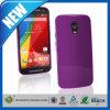 Cubierta brillante púrpura sólida de la caja de la piel del gel de C&T TPU para Motorola Moto G2 Xt1068