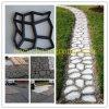DIY Plastic Pavement Mold para o jardim Pavement Mold de Paving Stone Decorative Sidewalk Pebbles Stone do jardim