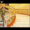 Barandilla de lujo de la escalera de la decoración del chalet