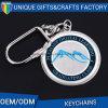 Trousseau de clés fait sur commande en alliage de zinc de logo pour le souvenir