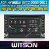 Hyundai Getz (W2-D8900Y)를 위한 Witson Autocar DVD Steering Wheel Control Front DVR Capactive Screen
