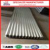 Metal del galvanizado que cubre la hoja de acero acanalada del material para techos