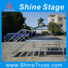 Guidrails를 가진 Sale를 위한 1.5m High Aluminum Frame Plywood Platform Stage Outdoor Mobile Stage