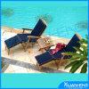 Voyage conçu se pliant en bois de luxe de vacances de plage de chaise de paquet