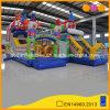 Città gonfiabile di salto di divertimento del pagliaccio di circo del castello da vendere (AQ01719)
