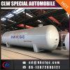 중국 60cbm 30mt 수평한 LPG 가스 탄알 저장 탱크