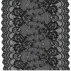 Tissu de lacet de broderie de coton pour des vêtements avec le prix bon marché