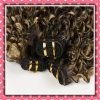 Горячие продавая бразильские курчавые человеческие волосы сотка 14inches