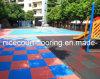 Der multi einfache Zweck warten Sport-Bodenbelag für Hinterhof-, Wohn-, Schule-und Park-Gebrauch (Nicecourt- Goldsilber-Bronze)