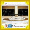 Fontaine d'eau ronde décorative extérieure d'étang d'hôtel