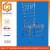 Resin transparente Polycarbonate Chiavari Chair para Banquet e Wedding