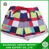 Shorts da praia das crianças com estilo da manta
