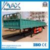 Preiswerte Preis Tri-Radachse 40 Tonnen-Ladung-Schlussteil, seitliche Wand-halb Schlussteil