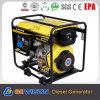 De 4-slag Diesel Generator van Powertec met de Dieselmotor van Air Cooled