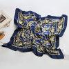 Écharpe en soie de satin de Madame Square Fashion Printed Polyester (YKY1028)