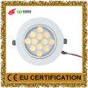 Светодиодные энергосберегающие лампы освещения панели Потолочный светильник AC85-265V 12W