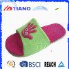 Deslizadores al aire libre del PVC de la alta calidad y de interior laterales de la mujer (TNK24950)
