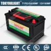 60038mf 12V100ahのDIN Standard Maintenance Free Lead Acid Battery
