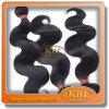 Чернота двигателя человеческих волос девственницы объемной волны бразильская