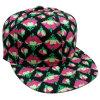 Gorra de béisbol floral del Snapback con el pico plano Sb1592