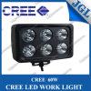 60W el trabajo del CREE LED enciende la lámpara con la cubierta cuadrada
