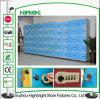 6層の貯蔵用ロッカーのABSプラスチックロッカー