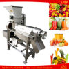 Orange Zitrone-Apple-Zuckerrohr-Saft, der orange Juicer-Maschine herstellt