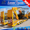 세 배 Axles Gooseneck 13meters Excavator Low Bed Semi Trailer
