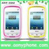 2.4 téléphone portable duel de carte de pouce SIM, téléphone portable de TV