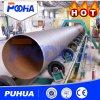 Máquina certificada Ce del chorreo con granalla para el tubo de acero Outwall de la limpieza