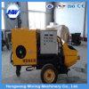 Électrique ou Diesel Trailer Concrete Pump avec Good Quality